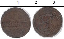 Изображение Монеты Германия Саксен-Хильдбургхаузен 1 геллер 1766 Медь VF
