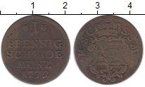 Изображение Монеты Германия Саксе-Кобург-Саалфельд 1 пфенниг 1772 Медь VF