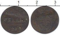Изображение Монеты Германия Саксе-Кобург-Саалфельд 1 геллер 1810 Медь VF