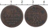 Изображение Монеты Германия Брауншвайг-Люнебург-Каленберг-Ганновер 1 пфенниг 1767 Медь XF-