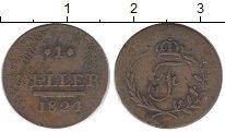 Изображение Монеты Германия Саксен-Хильдбургхаузен 1 геллер 1824 Медь XF-