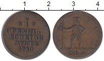 Изображение Монеты Германия Брауншвайг-Вольфенбюттель 1 пфенниг 1780 Медь XF