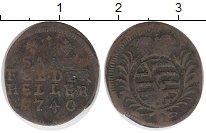 Изображение Монеты Германия Саксе-Кобург-Саалфельд 1 геллер 1740 Медь VF