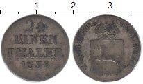 Изображение Монеты Германия Ганновер 1/24 талера 1836 Серебро VF