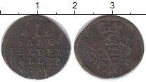 Изображение Монеты Германия Саксе-Кобург-Саалфельд 1 геллер 1752 Медь XF-