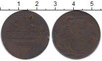 Изображение Монеты Германия Саксе-Кобург-Саалфельд 4 пфеннига 1810 Медь VF
