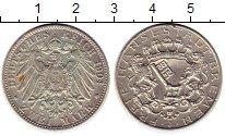 Изображение Монеты Германия Бремен 2 марки 1904 Серебро XF