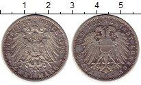 Изображение Монеты Германия Любек 2 марки 1906 Серебро XF