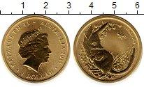 Изображение Монеты Австралия 1 доллар 2011 Латунь UNC