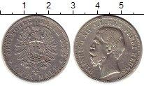 Изображение Монеты Рейсс-Шляйц 2 марки 1884 Серебро VF