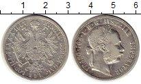 Изображение Монеты Австрия 1 флорин 1887 Серебро XF-