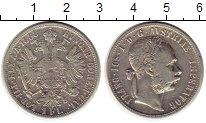 Изображение Монеты Австрия 1 флорин 1888 Серебро XF-