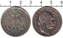 Изображение Монеты Австрия 1 флорин 1876 Серебро XF