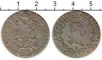 Изображение Монеты Австрия 20 крейцеров 1810 Серебро XF