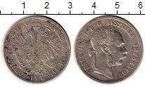 Изображение Монеты Австрия 1 флорин 1891 Серебро XF