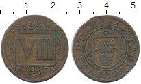 Изображение Монеты Германия Косфельд 8 пфеннигов 1713 Медь XF