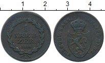 Изображение Монеты Нассау 1 крейцер 1808 Медь XF-