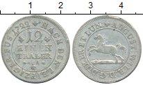 Изображение Монеты Брауншвайг-Вольфенбюттель 1/12 талера 1722 Серебро XF