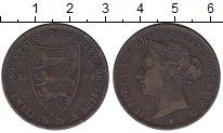 Изображение Монеты Остров Джерси 1/12 шиллинга 1894 Бронза VF