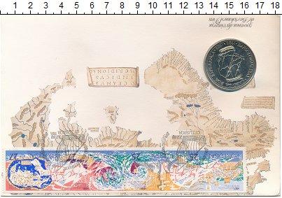 Изображение Подарочные монеты Португалия 100 эскудо 1988 Медно-никель UNC Португальские открыт