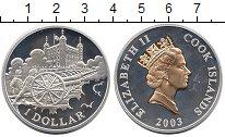 Изображение Монеты Новая Зеландия Острова Кука 1 доллар 2003 Серебро Proof
