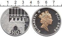 Изображение Монеты Фиджи 10 долларов 2003 Серебро Proof