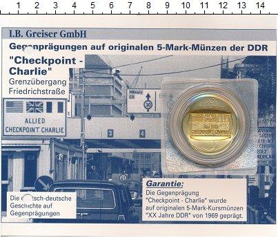 Изображение Подарочные монеты Германия Жетон 0 Бронза UNC