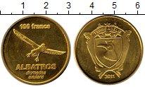 Изображение Мелочь Франция Адель 100 франков 2011 Латунь UNC-