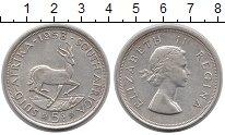 Изображение Монеты ЮАР 5 шиллингов 1953 Серебро XF