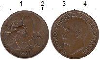 Изображение Монеты Италия 10 сентесим 1920 Бронза XF