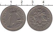 Изображение Монеты Барбадос 25 центов 1978 Медно-никель XF