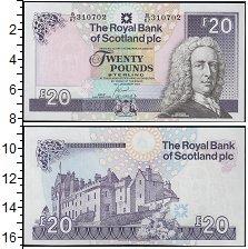 Изображение Банкноты Великобритания Шотландия 20 фунтов 2007  UNC