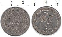 Изображение Монеты Западная Африка 100 франков 1978 Медно-никель XF