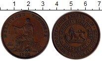 Изображение Монеты Австралия 1 пенни 1860 Медь XF