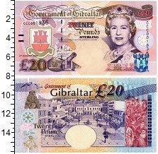 Изображение Банкноты Гибралтар 20 фунтов 2004  UNC