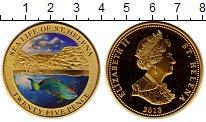 Изображение Монеты Великобритания Остров Святой Елены 25 пенсов 2013 Латунь Proof-