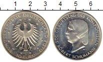 Изображение Монеты Германия 10 евро 2010 Серебро UNC-