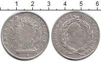 Монета Бавария 20 крейцеров Серебро 1799 XF- фото