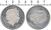 Изображение Монеты Великобритания Олдерни 5 фунтов 2009 Серебро Proof-