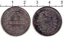 Изображение Монеты Германия 1 марка 1878 Серебро XF-