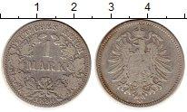 Изображение Монеты Германия 1 марка 1880 Серебро XF-