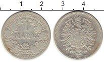Изображение Монеты Германия 1 марка 1882 Серебро XF-