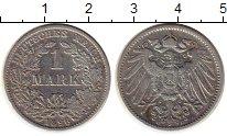 Изображение Монеты Германия 1 марка 1896 Серебро XF