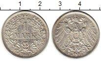 Изображение Монеты Германия 1 марка 1907 Серебро XF