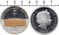 Изображение Монеты Новая Зеландия Острова Кука 10 долларов 2011 Серебро Proof-