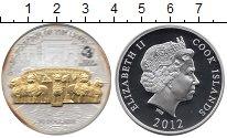Монета Острова Кука 10 долларов Серебро 2012 Proof- фото