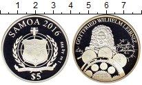 Изображение Монеты Самоа 5 тала 2016 Серебро Proof-
