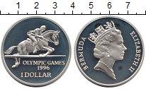 Изображение Монеты Великобритания Бермудские острова 1 доллар 1996 Серебро Proof