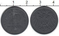 Изображение Дешевые монеты Германия 10 пфеннигов 1920 Цинк VF