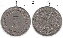 Изображение Дешевые монеты Германия 5 пфеннигов 1912 Медно-никель VF